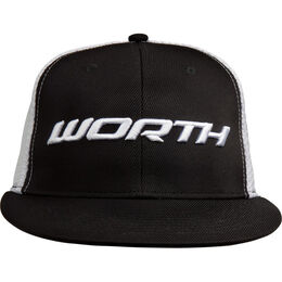 Adult Black Mesh Hat