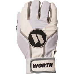 Adult White Batting Glove