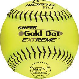 NSA 12 in Gold Dot Softballs (YS44NCYXT)